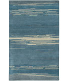 RugStudio presents Rizzy Mojave Mv3157 Blue Hand-Tufted, Best Quality Area Rug