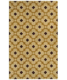 RugStudio presents Rizzy Opus Op8088 Light Gold Hand-Tufted, Good Quality Area Rug