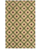 RugStudio presents Rizzy Opus Op8097 Green Hand-Tufted, Good Quality Area Rug