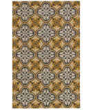 RugStudio presents Rizzy Opus Op8100 Gold Hand-Tufted, Good Quality Area Rug