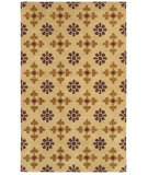 RugStudio presents Rizzy Opus Op8112 Light Gold Hand-Tufted, Good Quality Area Rug