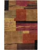 RugStudio presents Rizzy Organza OR-0188 Rust Hand-Knotted, Best Quality Area Rug