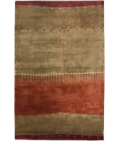 RugStudio presents Rizzy Organza OR-1908 Brown Hand-Knotted, Best Quality Area Rug