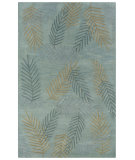 RugStudio presents Rizzy Pandora PR-0205 Light Blue Hand-Tufted, Good Quality Area Rug