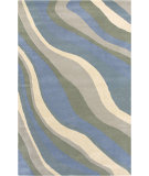 RugStudio presents Rizzy Pandora PR-0476 Blue Hand-Tufted, Good Quality Area Rug