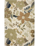 RugStudio presents Rizzy Pandora PR-1740 Blanc Hand-Tufted, Good Quality Area Rug