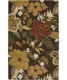 RugStudio presents Rizzy Pandora PR-1741 Brun Hand-Tufted, Good Quality Area Rug