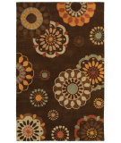 RugStudio presents Rizzy Pandora Pr8116 Brown Hand-Tufted, Good Quality Area Rug