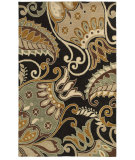 RugStudio presents Rizzy Pandora Pr8142 Charcoal Hand-Tufted, Good Quality Area Rug