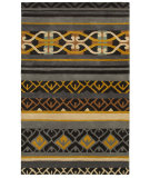 RugStudio presents Rizzy Pandora Pr8182 Charcoal Hand-Tufted, Good Quality Area Rug