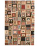 RugStudio presents Rizzy Swing SG-389 Multi Flat-Woven Area Rug