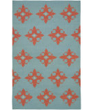 RugStudio presents Rizzy Swing Sg8006 Light Blue Flat-Woven Area Rug