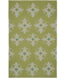 RugStudio presents Rizzy Swing Sg8035 Green Flat-Woven Area Rug
