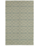 RugStudio presents Rizzy Swing Sg8159 Light Blue Flat-Woven Area Rug