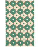RugStudio presents Rizzy Swing Sg8265 Emerald Green Woven Area Rug
