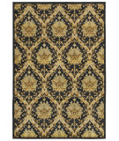 RugStudio presents Rizzy Sorrento So4312 Black Machine Woven, Good Quality Area Rug