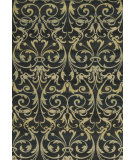 RugStudio presents Rizzy Sorrento So4322 Black Machine Woven, Good Quality Area Rug