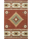 RugStudio presents Rizzy Southwest SU-1822 Navajo Red Hand-Tufted, Better Quality Area Rug