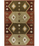 RugStudio presents Rizzy Southwest SU-1937 Hopi Red Hand-Tufted, Better Quality Area Rug