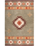 RugStudio presents Rizzy Southwest SU-2008 Green Hand-Tufted, Better Quality Area Rug