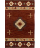 RugStudio presents Rizzy Southwest SU-2009 Red Hand-Tufted, Better Quality Area Rug
