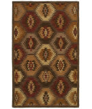 RugStudio presents Rizzy Southwest Su8152 Brown Hand-Tufted, Better Quality Area Rug