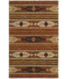 RugStudio presents Rizzy Southwest Su8156 Rust Hand-Tufted, Better Quality Area Rug
