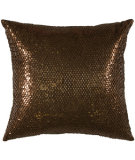 RugStudio presents Rizzy Pillows T00001 Copper / Brown