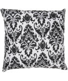 RugStudio presents Rizzy Pillows T02625 White / Black