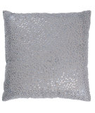 RugStudio presents Rizzy Pillows T03130 Gray / Silver
