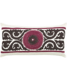 RugStudio presents Rizzy Pillows T03235 Pink / Brown