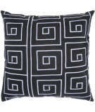 RugStudio presents Rizzy Pillows T03565 Black / White