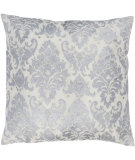 RugStudio presents Rizzy Pillows T03593 Silver / White