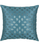 RugStudio presents Rizzy Pillows T03604 Peacock Blue / Aqua