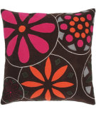 RugStudio presents Rizzy Pillows T03623 Pink / Brown