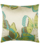 RugStudio presents Rizzy Pillows T03787 Teal / Green