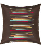 RugStudio presents Rizzy Pillows T03853 Brown / Mulit