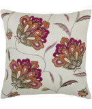 RugStudio presents Rizzy Pillows T03888 Pink / Natural