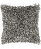 RugStudio presents Rizzy Pillows T03967 Gray / Gray