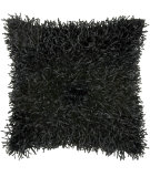 RugStudio presents Rizzy Pillows T03972 Black / Black