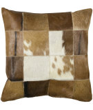 RugStudio presents Rizzy Pillows T03979 Brown / Brown