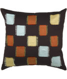RugStudio presents Rizzy Pillows T2008a Brown / Rust