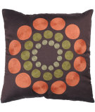 RugStudio presents Rizzy Pillows T2325b Orange / Green
