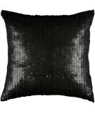 RugStudio presents Rizzy Pillows T3063a Black / Black
