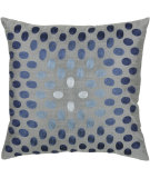 RugStudio presents Rizzy Pillows T3070a Gray / Blue