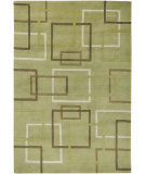 RugStudio presents Rizzy Tango TA-1352 Lime Hand-Knotted, Good Quality Area Rug