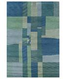 RugStudio presents Rizzy Tango TA-431 Blue Hand-Knotted, Good Quality Area Rug