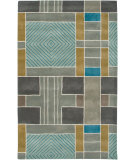 RugStudio presents Rizzy Volare Vo2654 Light Blue Hand-Tufted, Good Quality Area Rug