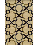 RugStudio presents Rizzy Volare Vo5088 Beige/Black Hand-Tufted, Good Quality Area Rug