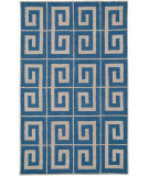 RugStudio presents Rizzy Vicki Payne Vp8022 Blue Hand-Tufted, Good Quality Area Rug